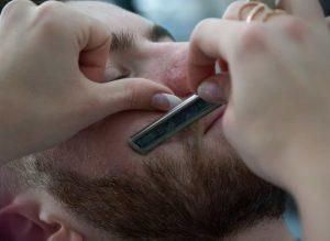First strokes straight razor